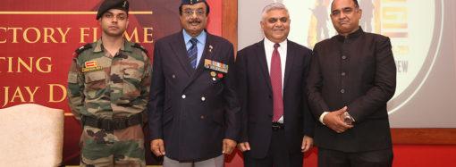 JGU welcomes Indian Army's 'Victory Flame' for 20th Anniversary of Kargil Vijay Diwas
